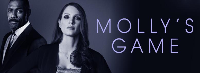 Озвучено число выхода киноленты Molly's Game
